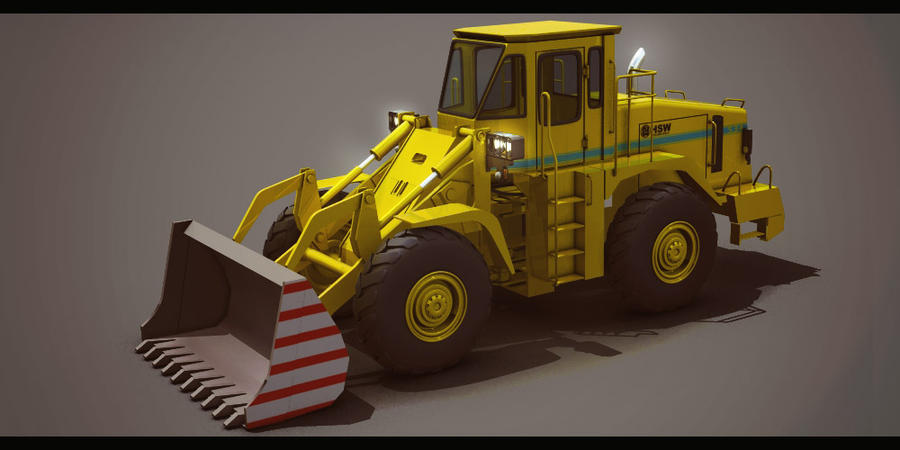 HSW Digger-Loader by AdamKop