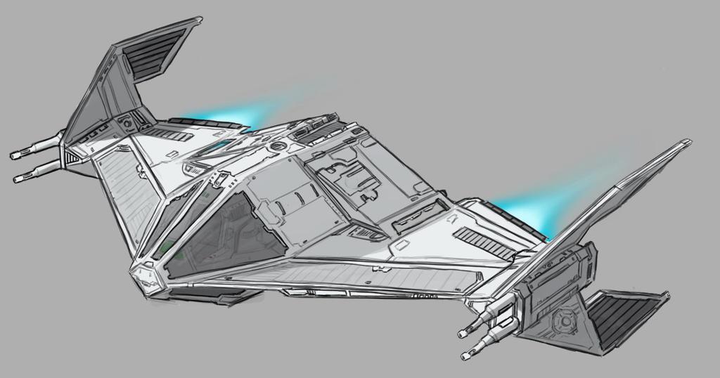Star Wars TIE Fighter Concept by AdamKop