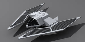 Star Wars Imperial TIE Fighter wip