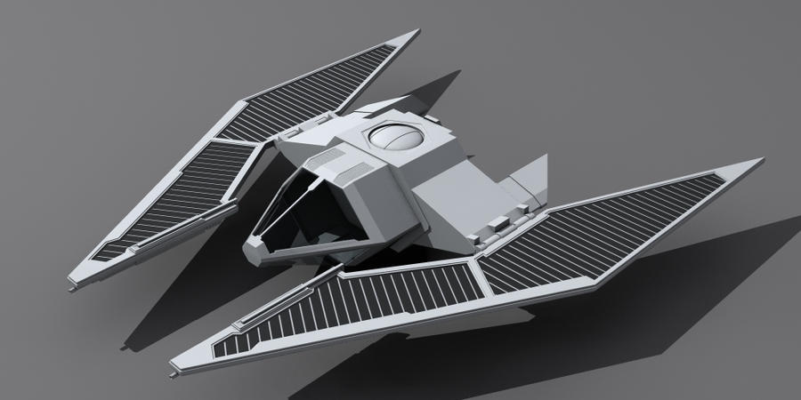 Star Wars Imperial TIE Fighter wip by AdamKop