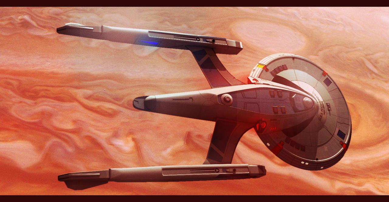 Star Trek Masterson Class Frigate by AdamKop