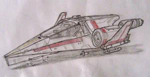 Star Wars Incom Fighter Concept by AdamKop