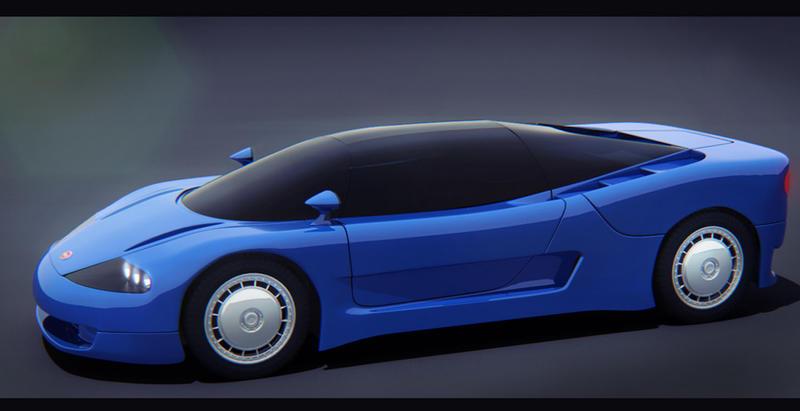 Bugatti ID90 (1989) by AdamKop