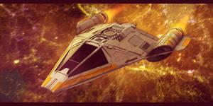 Star Wars Koensayr Fighter/Bomber 3D
