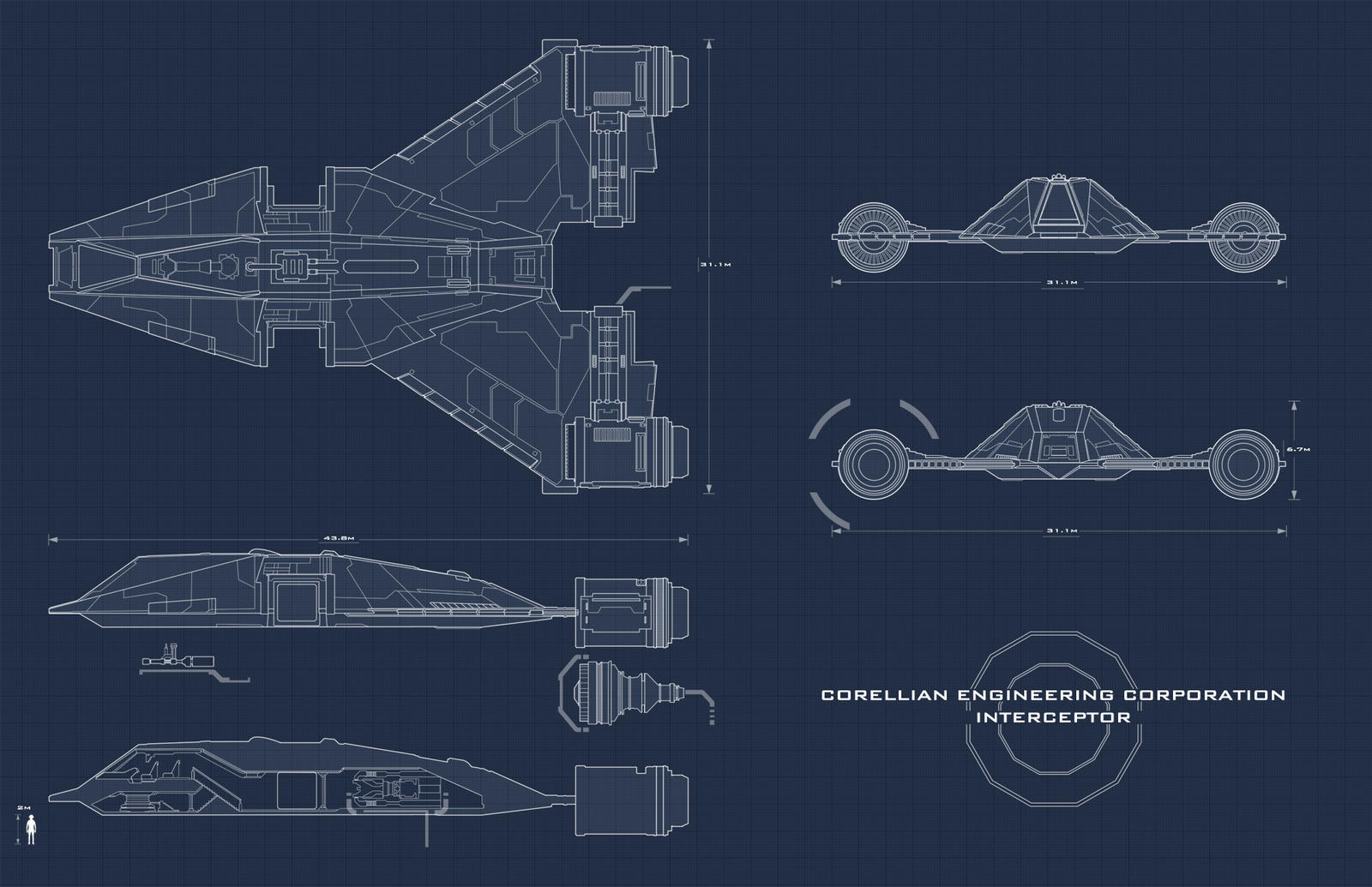 Star wars interceptor blueprint by adamkop on deviantart star wars interceptor blueprint by adamkop star wars interceptor blueprint by adamkop malvernweather Gallery