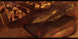 Star Wars Tatooine Trade Outpost