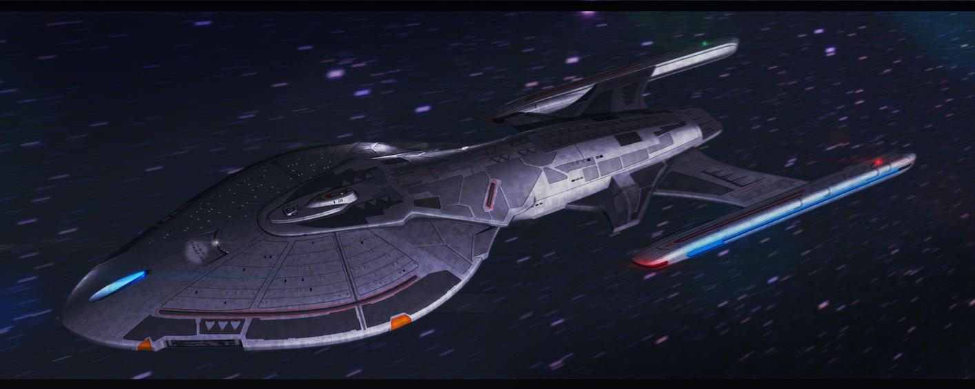 Star Trek USS Starfire by AdamKop
