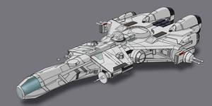 Star Wars CEC Modified YZ-900 2D Commission