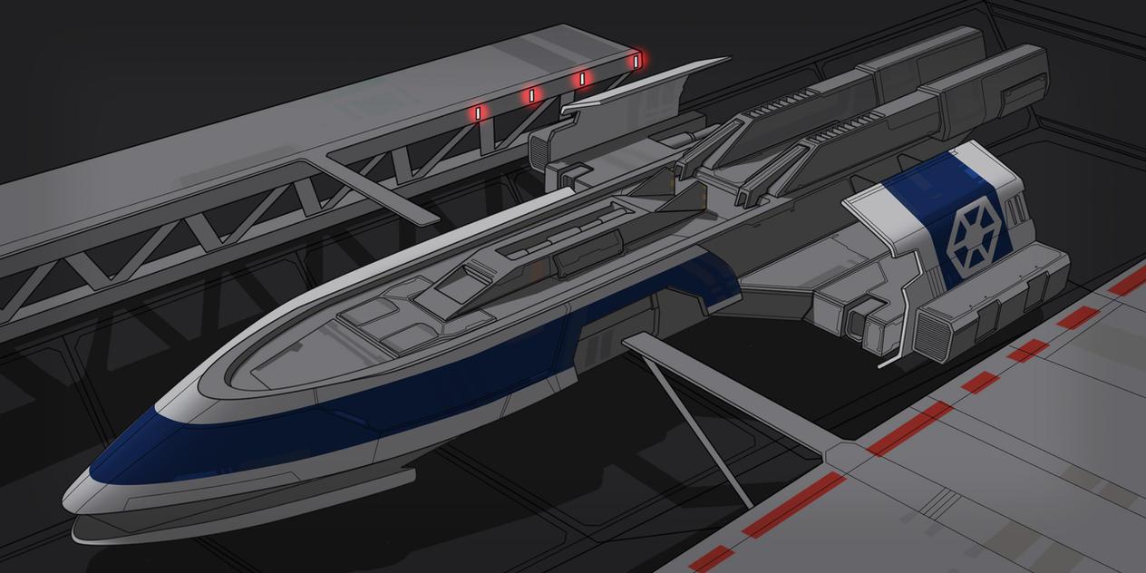 Star Wars CIS Separatist Gunboat by AdamKop