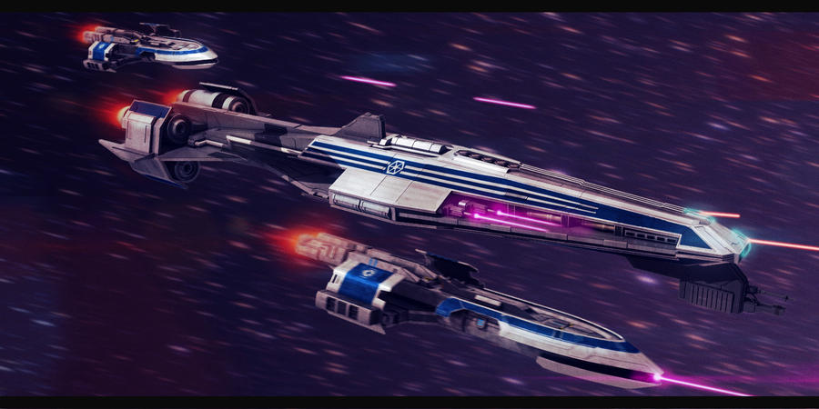 Star Wars Confederacy of Independent Systems Fleet by AdamKop
