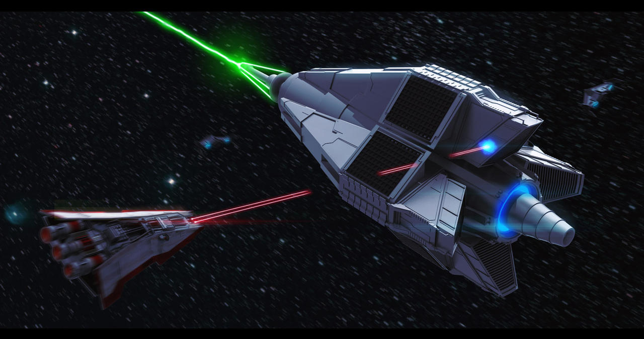 Star Wars Imperial Drone Superweapon Contest Entry by AdamKop