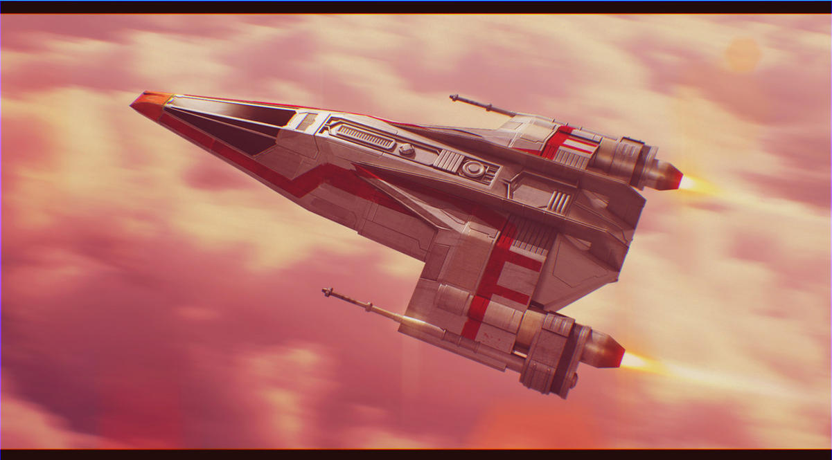 Flight Over Bespin by AdamKop