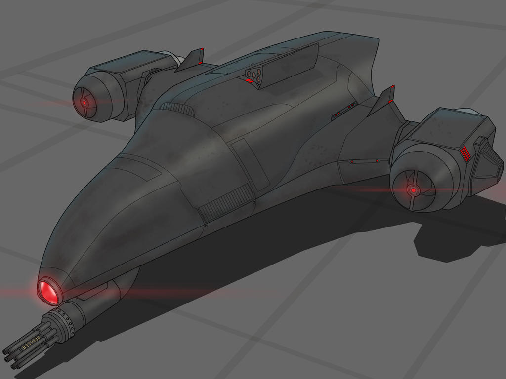 Star Wars Unmanned Drone Commision by AdamKop