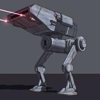 Star Wars Walker Prototype by AdamKop