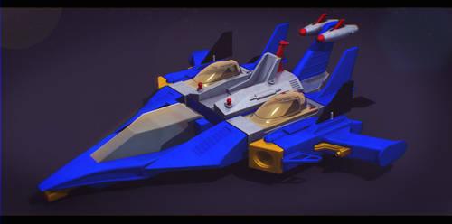 Sci-Fi BattleCruiser by AdamKop