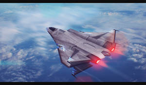 Starship ''Instructor'' 3D Commission