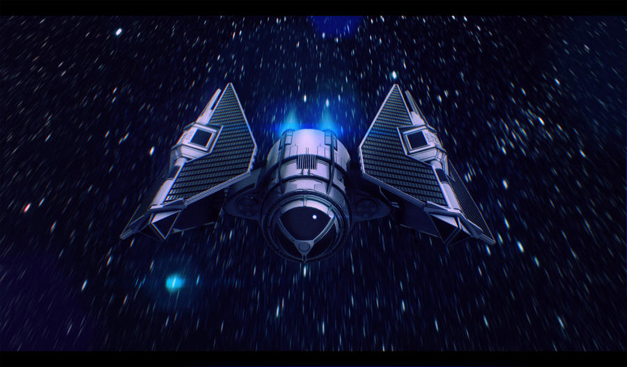Star Wars New Jedi Order TIE Fighter by AdamKop
