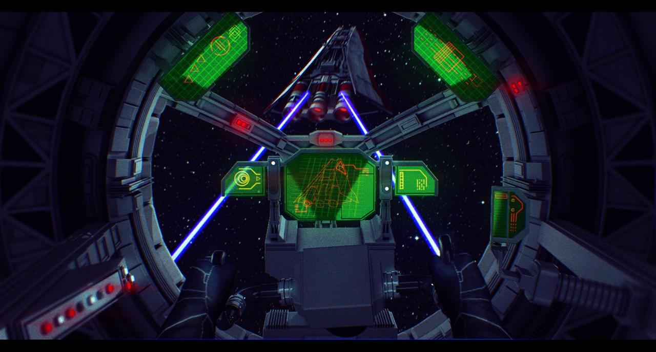 Star Wars TIE Fighter Assault by AdamKop