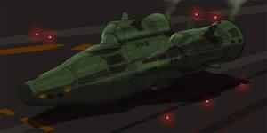 Sci-Fi 2D Ship Commission