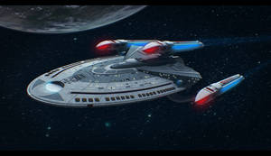 Star Trek Ship 3D Commission