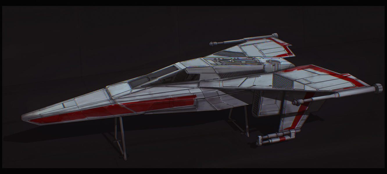 Star Wars Incom T-45 by AdamKop