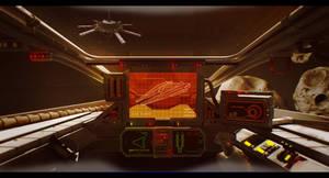 Star Wars Koensayr Fighter Cockpit by AdamKop