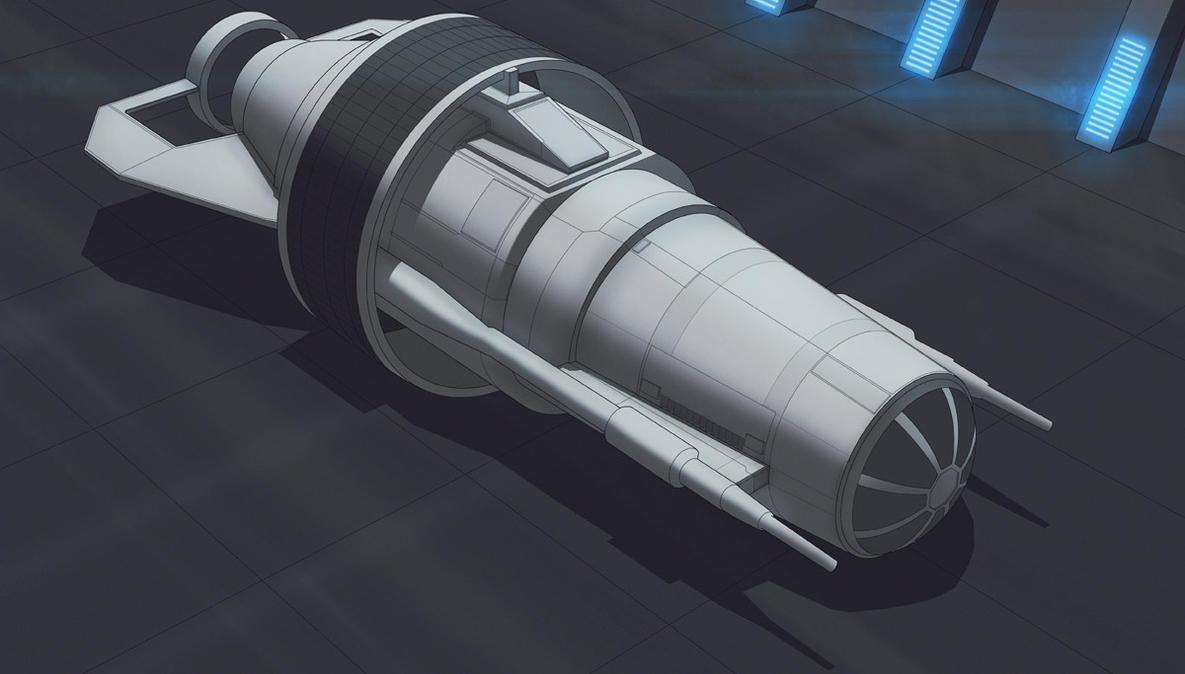 Star Wars TIE Fighter Experimental wip by AdamKop