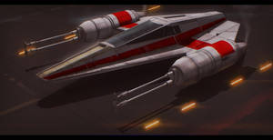 Star Wars Incom T-38 W-Wing