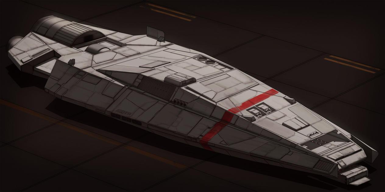 BattleStar Galactica Strikestar AGENOR by AdamKop