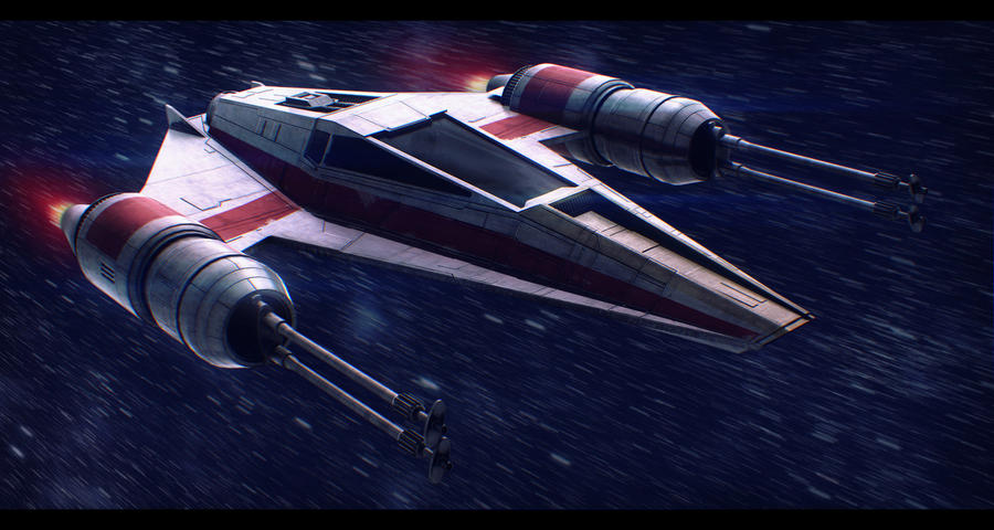 Star Wars Incom T-38 W-Wing by AdamKop