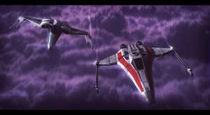 Star Wars Incom fighters Descent