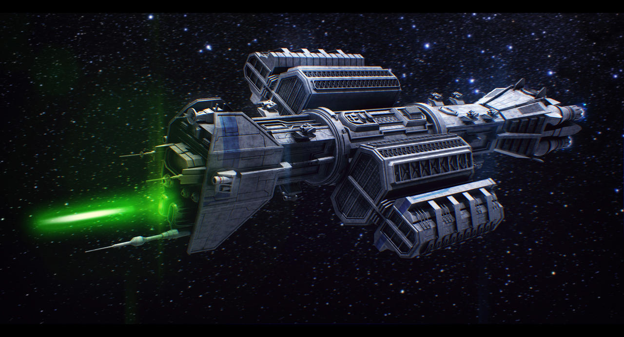 Babylon 5 Omega Redesign Commission by AdamKop