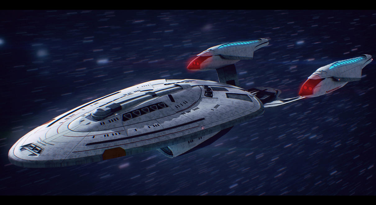 Star Trek USS Concord Commission by AdamKop