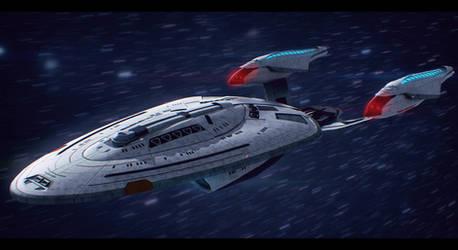 Star Trek USS Concord Commission by AdamKop