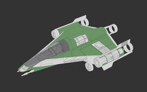 Star Wars Incom LB-70 Fighter/Bomber Schematic by AdamKop
