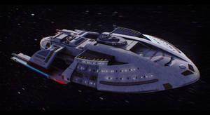 Star Trek USS Corona 3D Commission