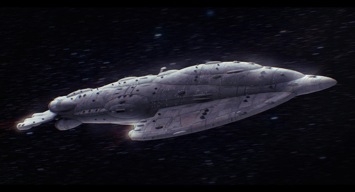 Star Wars Mon Calamari Star Tide-class Commission by AdamKop