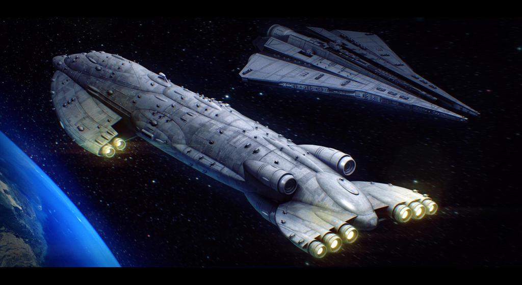 Star Wars - Mon Calamari Against The Empire by AdamKop