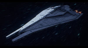 Star Wars - Imperial Star Destroyer Commission by AdamKop