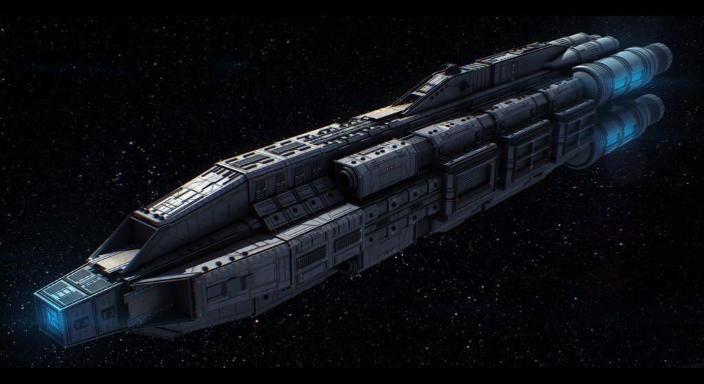 Terran Alliance Command Ship Commission by AdamKop