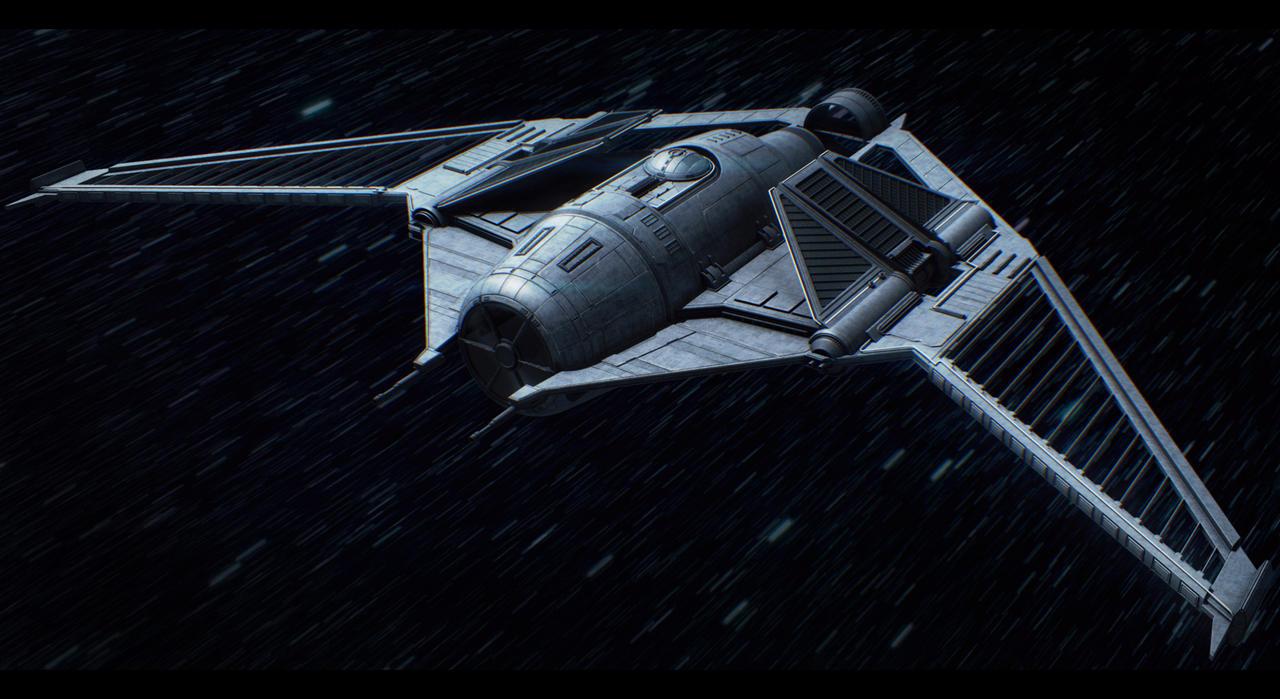 Star Wars Sienar Fighter Prototype by AdamKop