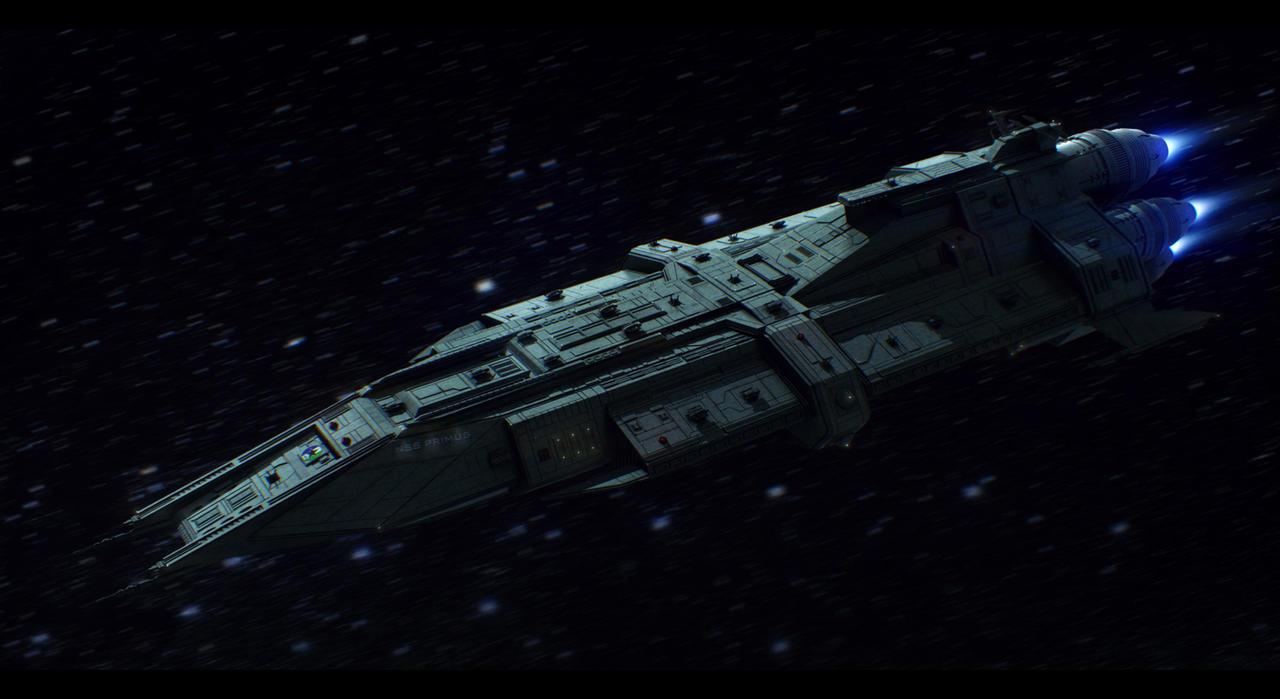 NSS Primus Battleship Commission By AdamKop On DeviantArt