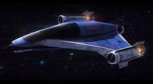 Star Wars Incom LB-70 Light Bomber