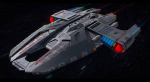 Star Trek USS Hammer by AdamKop