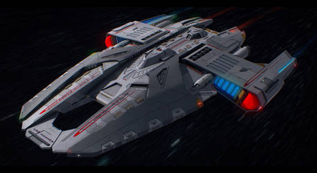 Star Trek USS Hammer by AdamKop