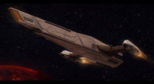 Star Wars Czerka Arms Cruiser