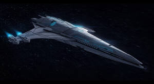 Arion Frigate Commission by AdamKop