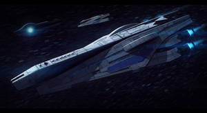 Mass Effect Veracruz-Class Cruiser Commission
