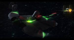 Star Wars Ghtroc Chase Scene