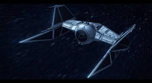 Star Wars Prototype TIE Fighter Commission by AdamKop